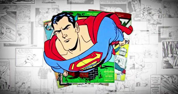 Un clip de deux minutes pour les 75 ans de Superman