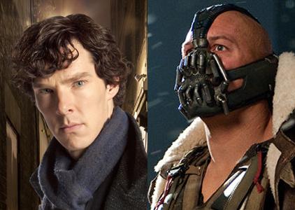 Sherlock et Bane au biberon
