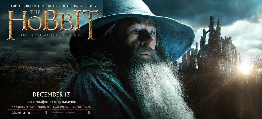 Mon préssssssssieux : The Hobbit, La Désolation de Smaug, la bande annonce
