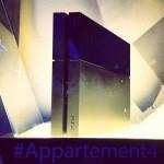 Première fois avec la PS4 à l' #appartement4
