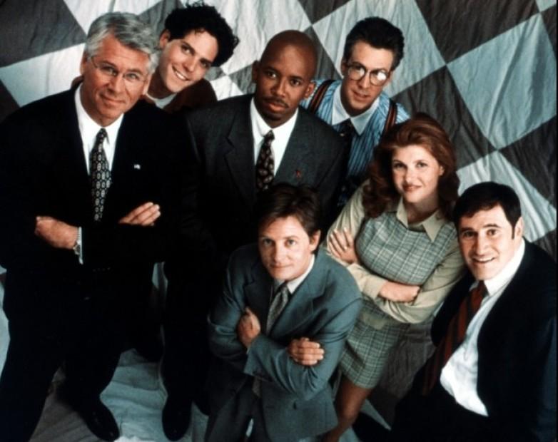 Liaison sériephile : Family Ties… dans Spin City