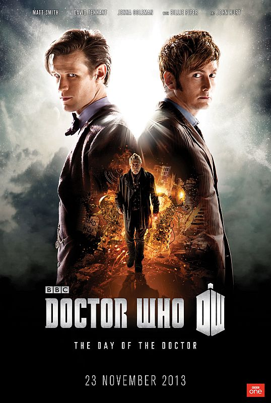 Doctor Who SP 50 ans - Affiche