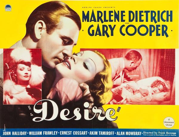 La séance du Père Sheppard : Desire, de Frank Borzage (1936)
