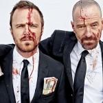 Bryan Cranston et Aaron Paul lisent les dernières pages de Breaking Bad