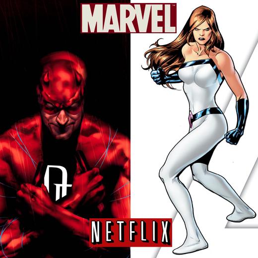 Daredevil et Jessica Jones, les séries Marvel/Netflix, ont leurs scénaristes