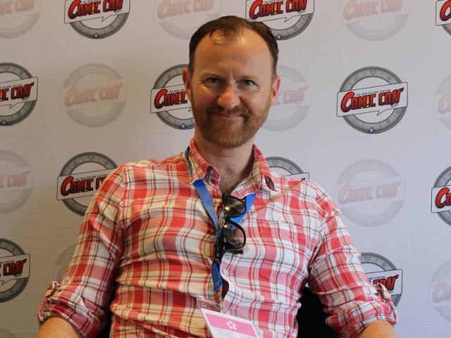 Rencontre avec Mark Gatiss (Doctor Who, Sherlock) au Comic Con Paris