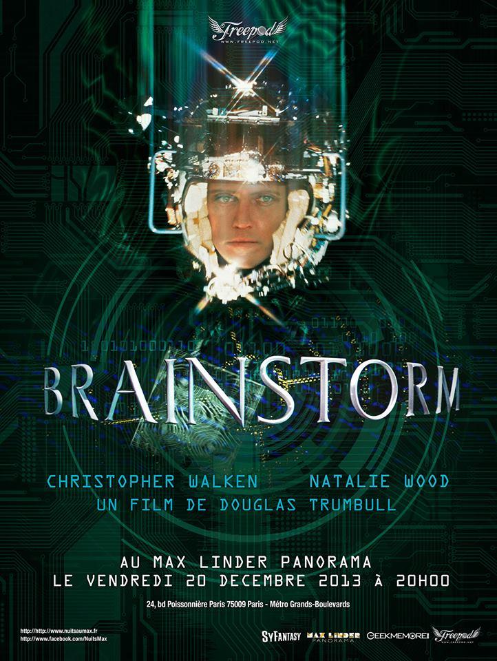 Projection exceptionnelle de Brainstorm de Douglas Trumbull au Max Linder
