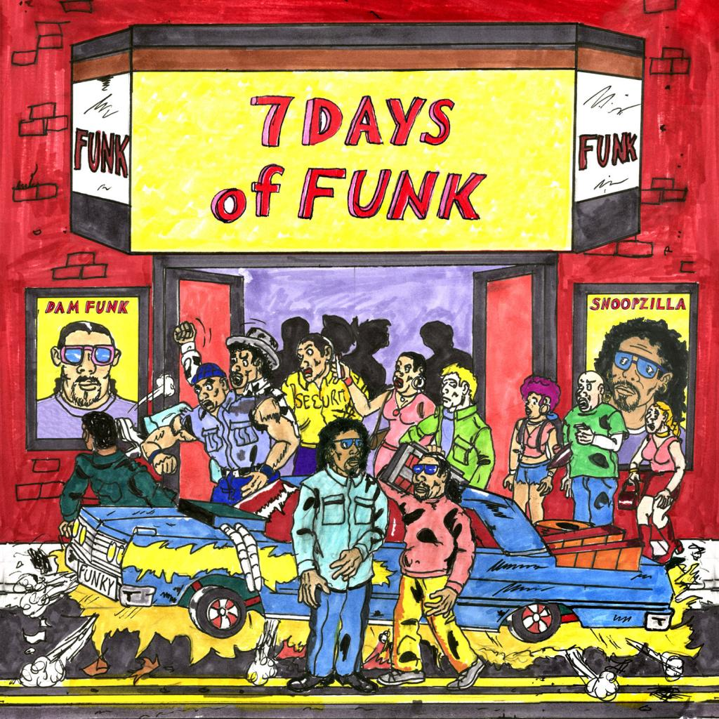 Music Mini Review : 7 Days Of Funk (Snoopzilla & Dâm-Funk)- 7 Days Of Funk (Stones Throw)