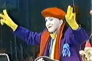 La Parade du Thanksgiving de 1989 de Macy's avec… Le Joker