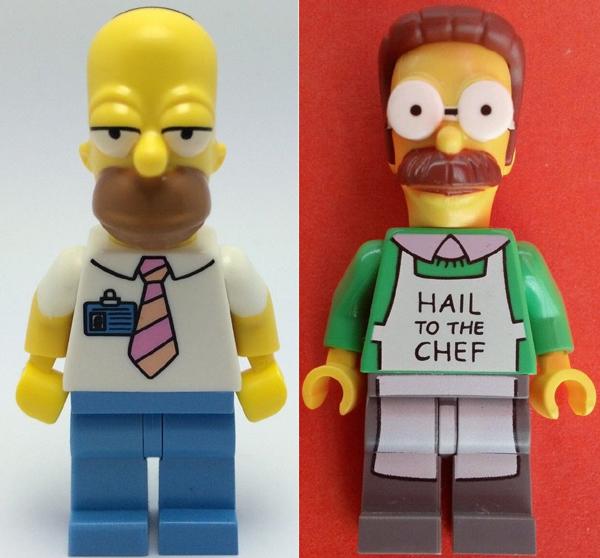 Les Simpsons en Lego, premières photos