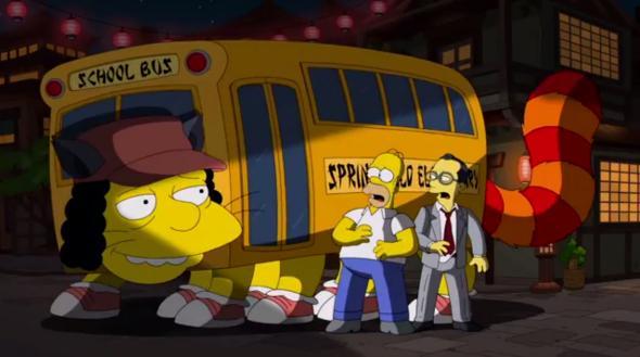 Hommage des Simpsons à Miyazaki