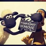La première image de tournage du film Shaun The Sheep pour nous tenir en ha-laine
