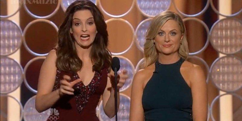 Le dialogue d'ouverture des Golden Globes 2014 de Tina Fey et Amy Poehler