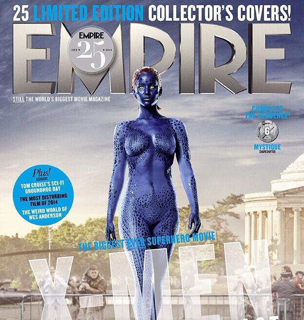 Les 25 couvertures «X-Men Days of Future Past» d'Empire bout-à-bout