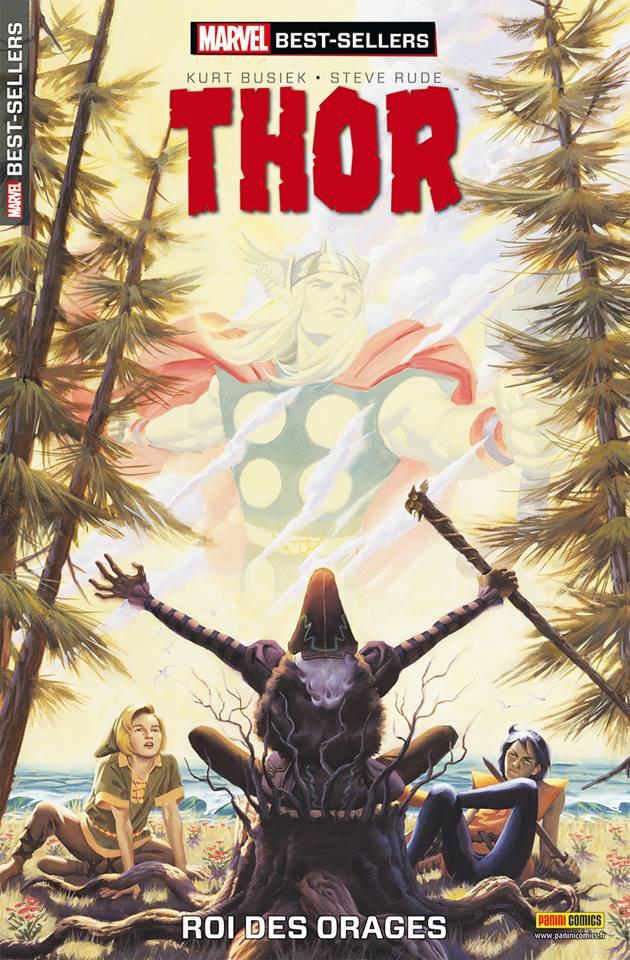 On a lu… Thor – Roi des orages de Kurt Busiek et Steve Rude