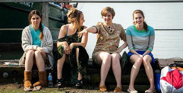 La bande des quatre dans Beach House, l'épisode 7.