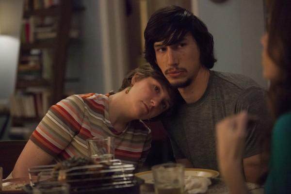 Hannah et Adam, en début de saison.