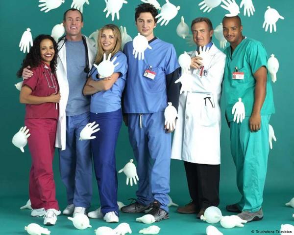 L'équipe de Scrubs.