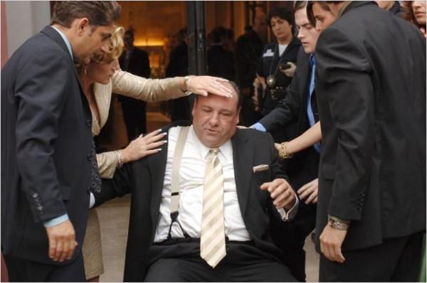 Mafieux au bord de la crise de nerfs. Photo HBO