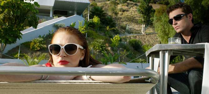 MOVIE MINI REVIEW : The Canyons