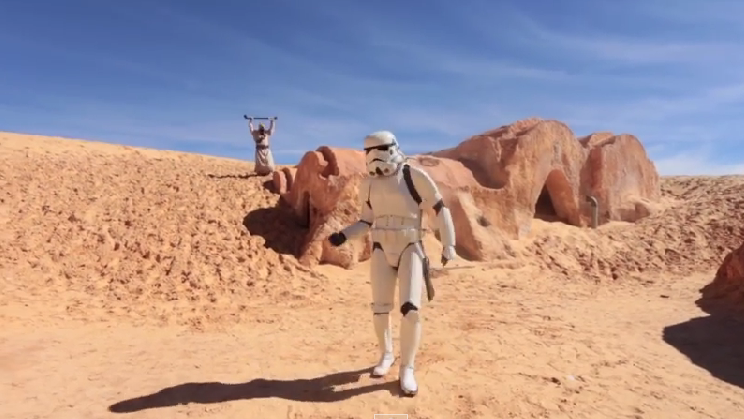 We Are Happy From… Tatooine