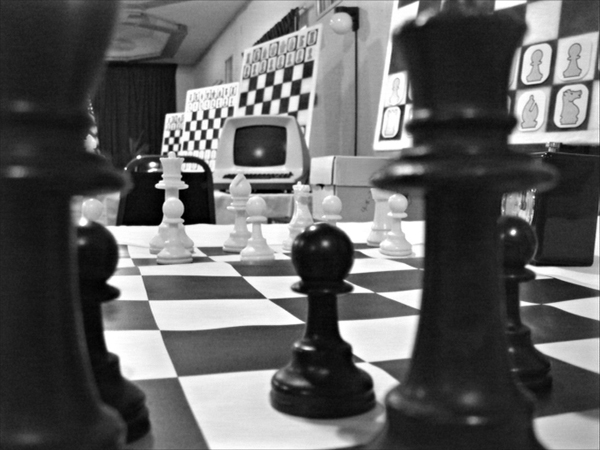 Intelligence artificielle (critique de Computer Chess d'Andrew Bujalski )