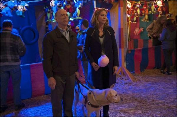 Papa et maman Fisher avec Elvis le chien. Photo NBC