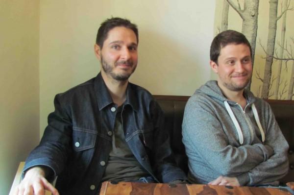 Alexandre Philip et Samuel Bodin, cocréateurs de Lazy Company. Photo Daily Mars
