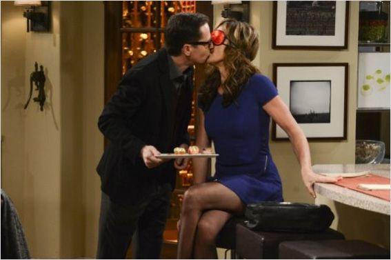Le chef Rudy (French Stewart) et Bonnie, pendant une soirée mémorable. Photo CBS