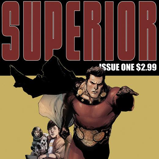 Superior: un nouveau comics de Mark Millar sur grand écran