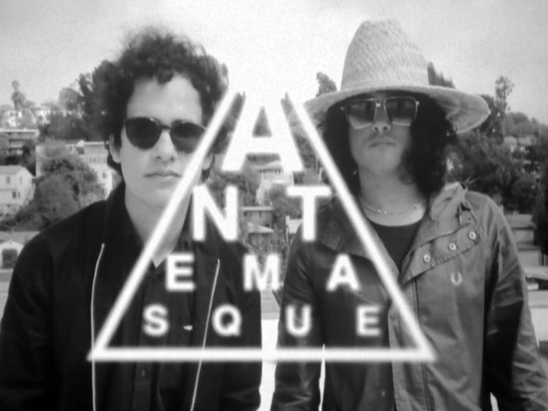 The Mars Volta + Flea = Antemasque