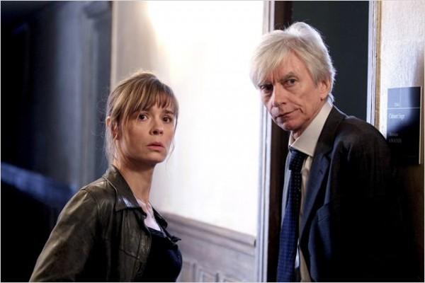 Berthaud et le juge Roban. Photo Canal +