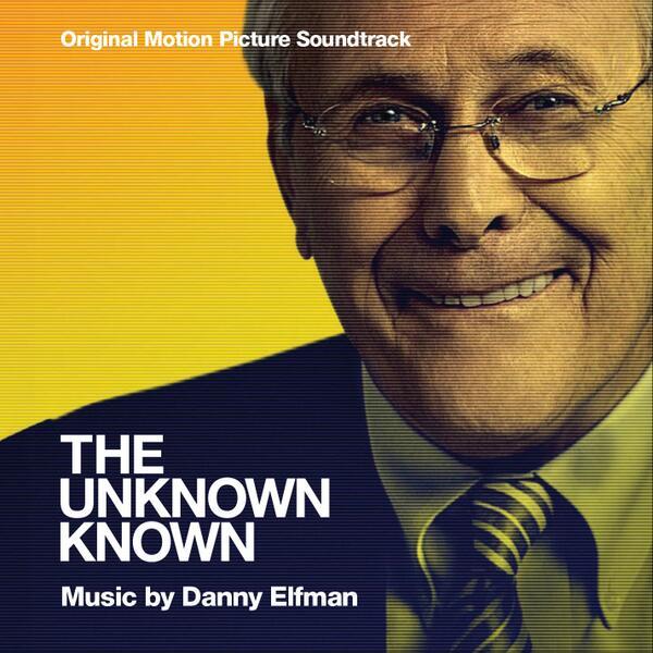 Music Mini Review : OST The Unknown Known de Danny Elfman (La-La Land Records)