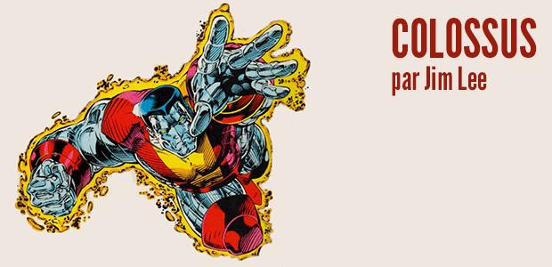 Colossus par Jim Lee