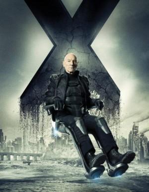 Patrick Stewart est Charles Xavier
