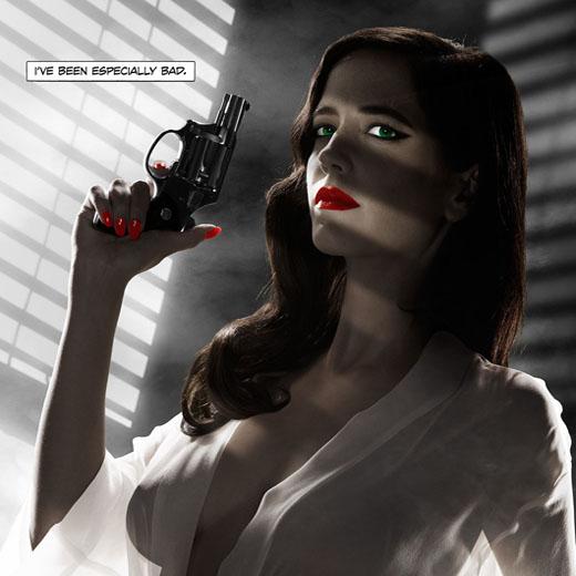 Eva Green, trop dénudée pour la censure américaine sur un poster de Sin City 2