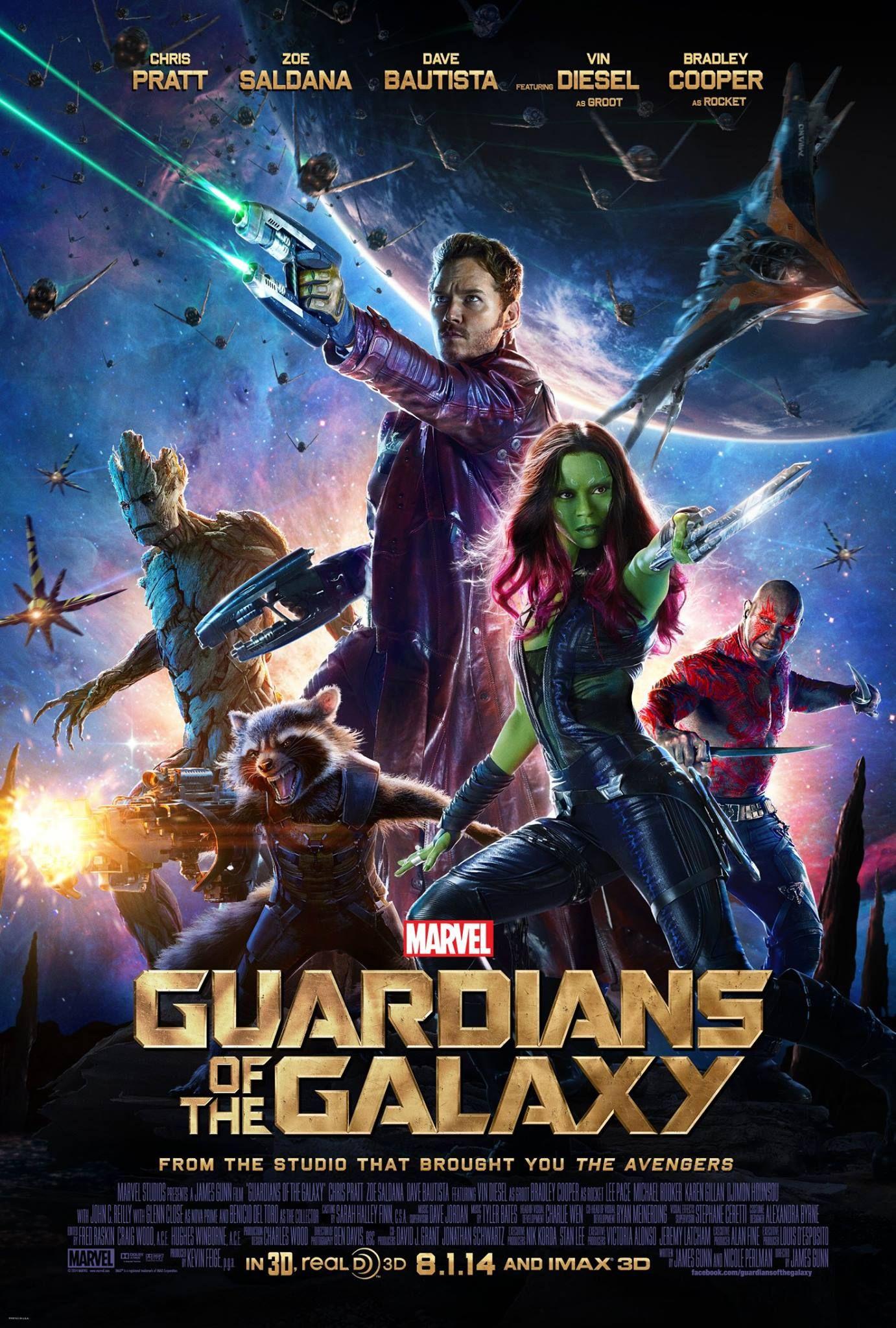 Les Guardians of the Galaxy teasent leur prochaine aguiche