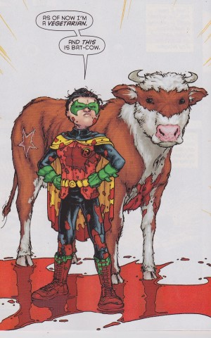 Robin et la bat-vache