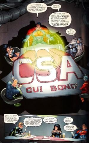 Le syndicat du crime en pleine discussion