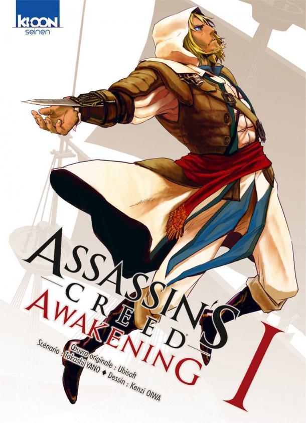 On a lu… Assassin's Creed Awakening (T.1) de Takashi Yano et Kenzi Oiwa
