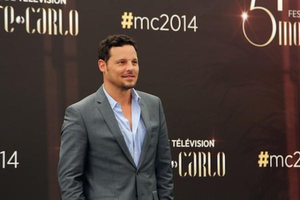Justin Chambers, au Festival de télévision de Monte-Carlo. Photo Isabelle Ratane