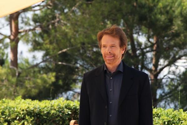 Jerry Bruckheimer, un lundi au soleil : c'est quelque chose que l'on à Monte-Carlo. (Photo Isabelle Ratane)