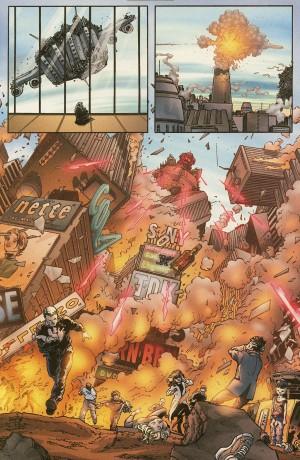 Quelques mois avant le 11/09 - New X-men #115