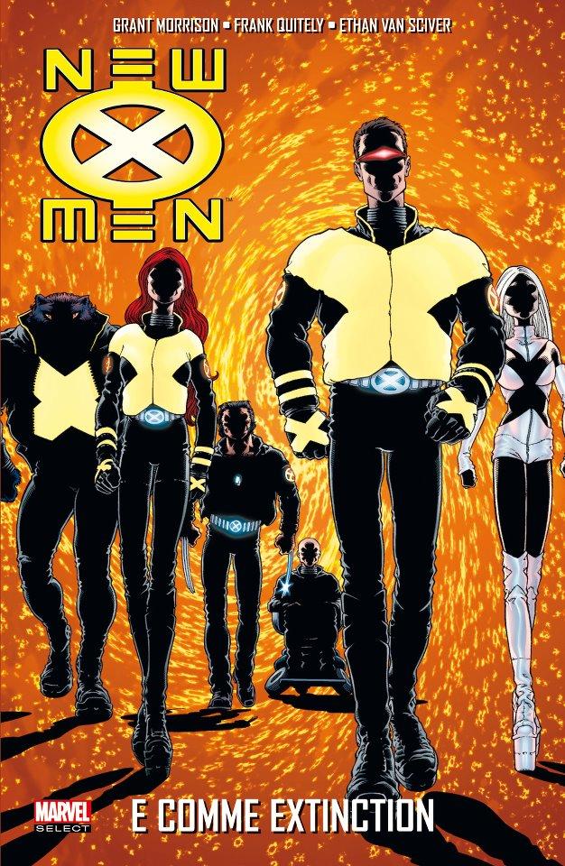 On a lu… New X-men de Grant Morrison
