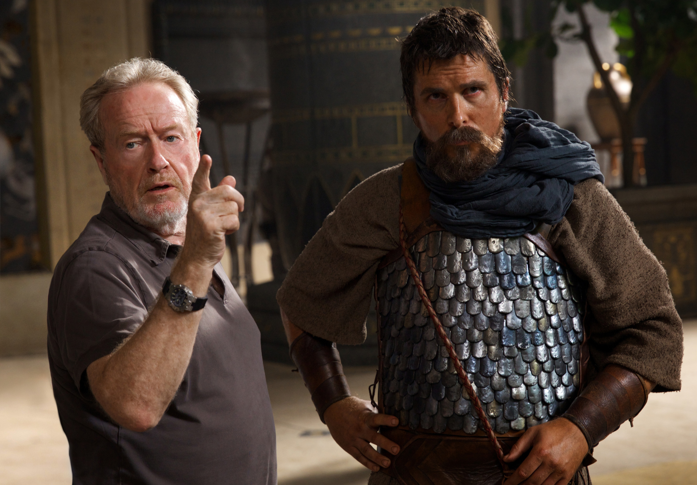 Exodus Christian Bale Ridley Scott