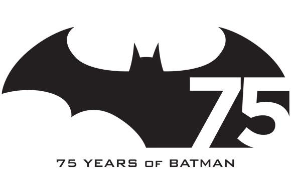 Batman 75 ans logo