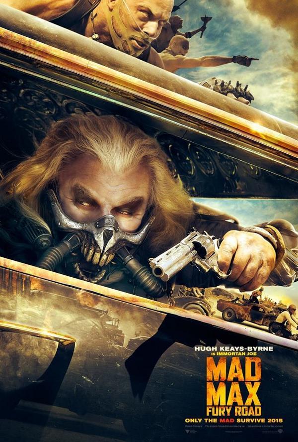 [MAJ] Un trailer et 4 nouveaux posters personnages pour Mad Max : Fury Road