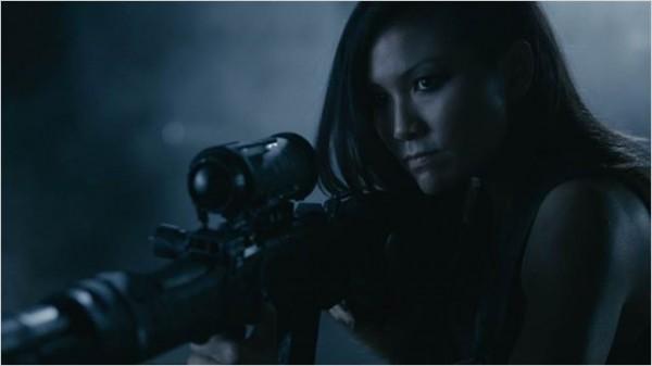 Michelle Lee dans l'épisode L'Endomorphe. Photo WE Production