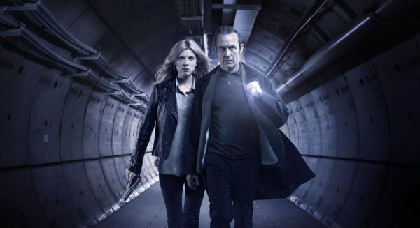 Les deux héros de Tunnel, adaptation franco-britannique du hit suédé-danois Bron/Broen.