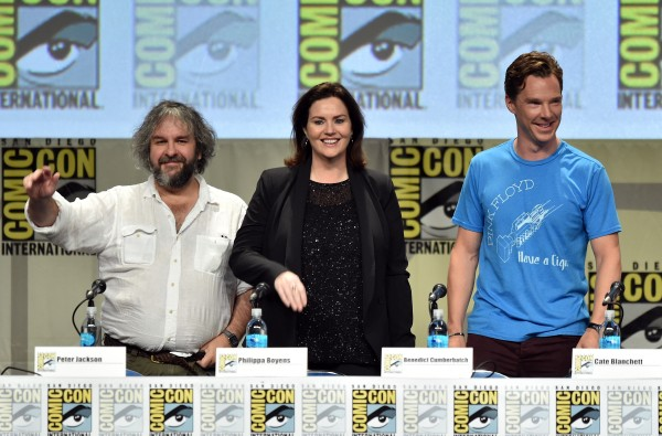 Legendary Pictures Preview And Panel - Comic-Con International 2014
